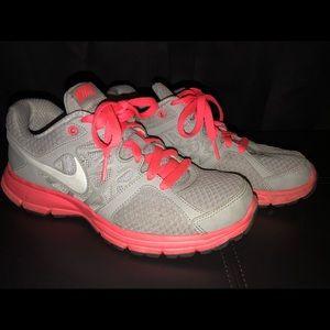 Gray & Hot Pink Nike Relentless 2 Sneakers